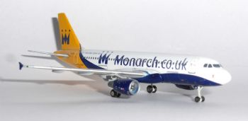 Airbus A320 Monarch Airlines UK Gemini Jets Model Scale 1:400 GJMON1181 G-OBX  E